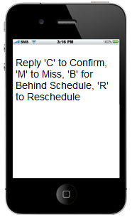 appointment reminder confirmation